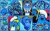 Blue Monday (oerendhard1) Tags: graffiti streetart urban art rotterdam