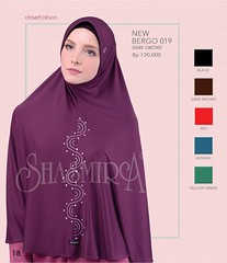 New Arrival!!!  SJARME OBSERFASHION           Limited Edition  Code      : New Bergo 019      Material : Spandex Sutera      Colour    : Dark Orchid. Black. Dark Brown.                        Red. Benhur. Yellow Green      Price       : IDR 12 (firaya_azzahra) Tags: shawl palembang jilbab jilbabpraktis kerudungsyari shasmirapalembang busanamuslimah jilbabmodern kerudung tudung hijab modernhijab shasmira jilbablangsung jilbabspandex jilbabsyari jilbabshasmira tudungbawal