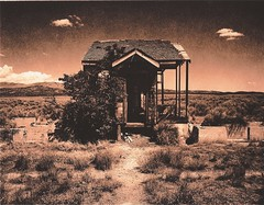 House Near Idaho State Line#2 (shanewilliamsmith) Tags: lith fortepaper lithprint