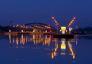 Schleuse am Dortmund-Ems-Kanal