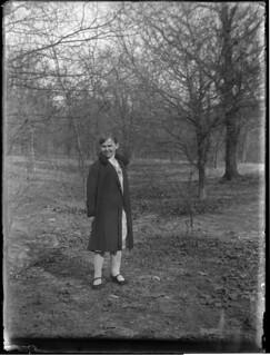 Woman in field, 1930s?