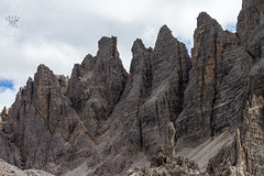 High (lightsaber*) Tags: rock rocks mountains explore dolomiti dolomites alto adige italy italia veneto landscape paesaggio hiking trekking clouds sky peak peaks top high grey locatelli rifugio tower crode dei piani monte paterno boden enoten patern