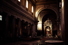 Postcards from Rome (Pat Kelleher) Tags: rome roma patkelleher patkelleherphotography fuji fujifilm fujixt1 travel italy light church architecture atmosphere