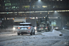 Cars in the snow (Daniel's Clicks) Tags: