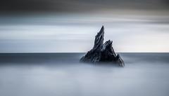 Stacked - Devon (Christopher Pope Photography) Tags: christopherpopephotography wwwchristopherpopephotographycom chrispope devon jurassic 2017 welcombebeach dusk sunset le seascape neilburnell seaswirl longexposure rocks