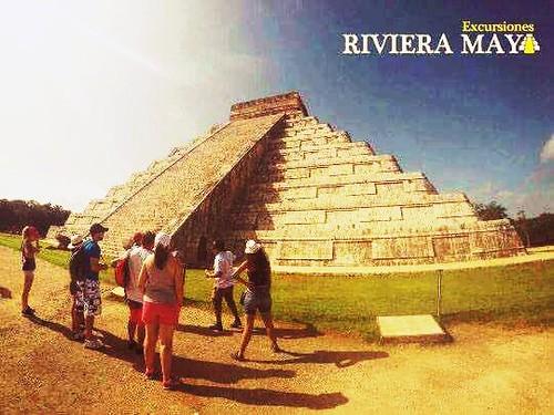Si sabes qué lugar es, seguro fueron tus mejores vacaciones. Vuelve a vivir la magia de la #RivieraMaya con nosotros #ExcursionesRivieraMaya #ChichenItza   If you know what place you were sure your best vacation ever. Relives the magic of #RivieraMaya wit