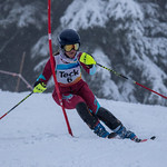 Grouse Mountain 2017 U14 Teck Coast Race Katarina Kaludjercic (Grouse) 3rd Slalom PHOTO CREDIT: Christopher Naas