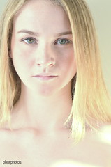 Julie portrait (Ralph de Vos) Tags: ralphdevos ralph de vos portrait julie phoxphotos photography photographier model modelshoot blonde head nikon tamron d7000 limburg schimmert ransdaal daylight noflash filter