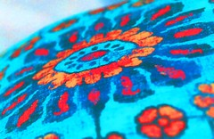 Inner Hippie (rolandmks7) Tags: flower hippie hippy psychedelic pillow cloth negative saturation push bright color colour