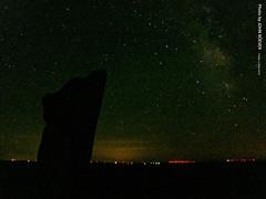 Teter Rock & the Night Sky, 13 May 2016 (photography.by.ROEVER) Tags: greenwoodcounty kansas usa 2016 may roadtrip may2016 flinthills teterrock beforesunrise earlymorning night longexposure 30sec 30secondlongexposure stars starrynight starrysky