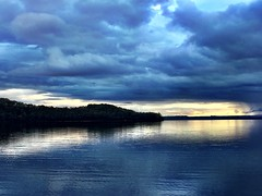 Dusk. Kelly Basin, Tasmania.