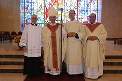 Bishop Persico, Seminary Rectors and Deacon Whiteford