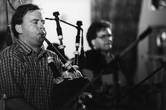 Paul K. MacNeil and Allie Bennett – Festival Club – October 1999 (photo: Murdock Smith)