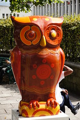 The Big Hoot - Dotty (tim ellis) Tags: uk statue birmingham owl publicart dotty oldsquare thebighoot