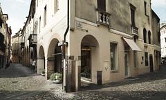 Padova Streets (Il.Falco) Tags: street travel italy photoshop sony medieval padova padua veneto travelphotography