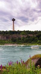 Skylon Tower, Niagara (aidong_ning) Tags: niagarafalls maidofthemist skylontower niagarariver