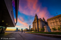 Liverpool (derekgordon1) Tags: longexposure sunset building night liverpool nikon waterfront unescoworldheritagesite nighttime liver 1020 scousers bit 32 cunard hdr mersey 3graces 32bit sigma1020 portofliverpool d7000 nikond7000