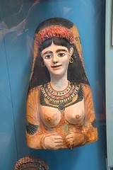 DSC_2900 British Museum London Painted plaster cartonnage mask of a woman From Egypt Roman Period about AD 100-120 (photographer695) Tags: london museum collection egyptian british the