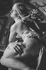 Galleria Borghese *1 (casalechiara) Tags: bw italy sculpture white black rome detail roma art classic statue museum blackwhite arte rape di museo marble bernini statua bianco nero bianconero galleria borghese proserpina dettaglio marmo ratto gianlorenzo