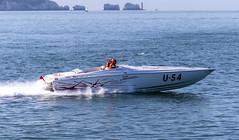 Cowes Classic 2015 - Fun Unlimited (nicklucas2) Tags: sea race boat solent powerboat hurstcastle cowesclassic