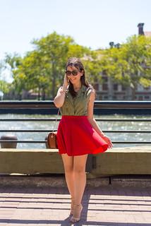 Mônica Araújo - Ellis Island Look - #NYExperience
