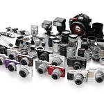 マイクロフォーサーズシステムデジタルカメラの写真
