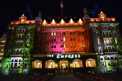 Empress Hotel - Victoria, British Columbia (Lucky Girl Kris) Tags: empresshotel theempresshotel