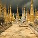 Pagodas de Shwe Indein, Lago Inle - Myanmar