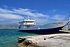 Ferry Paros-Antiparos - Paros - Greece (xosediego) Tags: sea ferry port nikon mediterranean sailing ship outdoor aegean greece 1855mm nikkor greekislands ubuntu provia paros cyclades antiparos dx darktable d3100