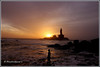 5537 - sunrise at Kanyakumari (chandrasekaran a 50 lakhs views Thanks to all.) Tags: sea india saint statue sunrise tamilnadu philosopher kanyakumari thiruvalluvar bayofbengal vivekananda tamils vivekanandarock thirukural tokina1116mm canoneos760d