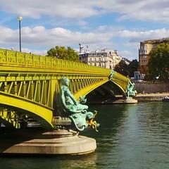 Pont Mirabeau, Paris, France. #pontmirabeau #auteuil... (7-bc) Tags: paris france iledefrance paris15 auteuil pontmirabeau paris16 uploaded:by=flickstagram instagram:venuename=pontmirabeau instagram:venue=793118 instagram:photo=108239230612205125017785338