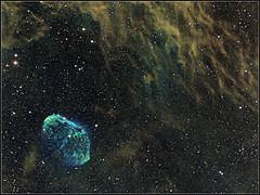 NGC6888_2x2_3x3x600s_20151031_PS_NI70pc-k (Rolembeek) Tags: astro nebula astronomy astrophoto nebulae deepsky ngc6888 narrowband hstpalette astropfotography