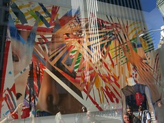 Wednesday Colours - Postcard from New York (Pushapoze (MASA)) Tags: newyorkcity storewindow bergdorfgoodman 2264 jamesrosenquist sambaschool