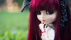 Chut and listen to me~ (MintyP.) Tags: 6 animals eyes doll sony wig groove pullip poupée merl nex obitsu mintypullip elwyna