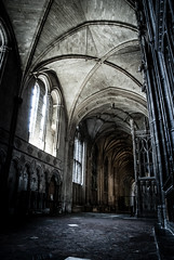 Place Of Worship (DanRansley) Tags: uk windows england building church architecture nikon cathedral religion ceiling winchester d80