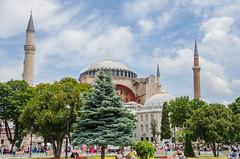 Istanbul - Haghia Sophia & Murat III  Mausoleum (Le Monde1) Tags: city nikon mosque unesco worldheritagesite mausoleum sultan ottoman bluemosque sophia haghia d7000 muratiii lemonde1