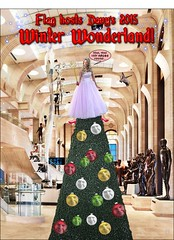 Winter Wonderland (marknpm1) Tags: christmas xmas winter tree santas flag satire fairy scientology grotto hq wonderland tat clearwater shoop 2015 markpm marksshoops marknpm