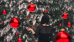 christmas spirits (lauren zaknoun) Tags: surreal surrealphotography surrealism christmas snow holidays fantasy fairytale conceptual winter newengland witch winterwitch nature forest