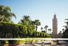 Koutoubia Mosque - Marrakech, Morocco (Naomi Rahim (thanks for 3 million visits)) Tags: marrakech marrakesh morocco africa northafrica 2016 المغرب مراكش travel travelphotography nikon nikond7200 wanderlust koutoubiamosque mosque placeofworship architecture building bluesky summer