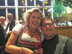 Helga und Trond, Hacker Pschorr zelt, Munich!