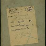Archiv K425 Eine Bäckersfamilie im Südharz (back), Hettstedt 1900er thumbnail