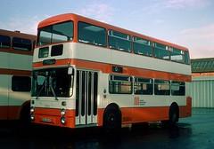 GMT 7854 (UNA 854S) (Martha R Hogwash) Tags: gmt greater manchester transport 7854 una854s leyland atlantean an68 park royal queens road depot