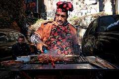 Street chef - Istanbul (Tilemachos Papadopoulos) Tags: qoq red turkey urban istanbul fujifilm fuji fujinon people street xt10 candid mirrorless
