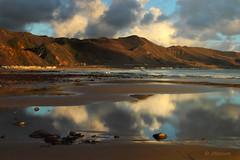 Solimar at Low Tide (VenturaMermaid) Tags: ventura venturacounty tidepools lowtide solimar cloud weather storm magichour goldenhour scenic landscape