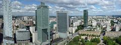 warsaw_poland (skoeni) Tags: warsaw poland panorama warszawa warschau hauptstadt polen hochhäuser innenstadt zlota44 hotelintercontinental