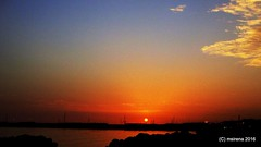 Sunset from Agrigento (martinasirena) Tags: agrigento sunset colors silhouette sicily italy