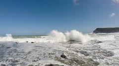 407 - Ecrasement des vagues à Curio Bay