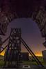 Magpie Mine at Night (liamhancox1) Tags: magpie mine peak district stars star brick arch light pollution steel wood structure mining abandoned peakdistrict buxton