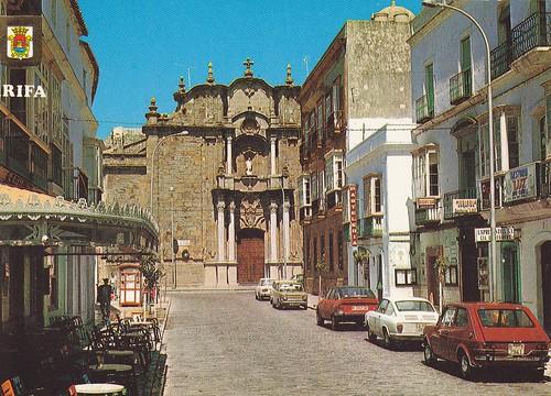 Postcard Tarifa (Cádiz) Calle Sancho IV Ed. A. Subirats