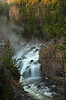 Firehole falls (zgrial) Tags: waterfall landscape river yellowstone nationalpark steam fall wyoming usa zgrial